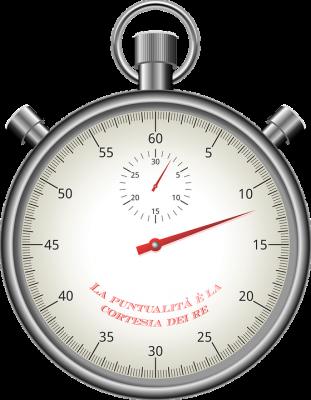 A stopwatch